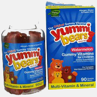 Yummi Bears – Multi-Vitamin & Mineral