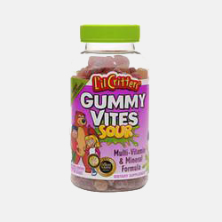 L'il Critters Gummy Vites – Dietary Supplement Gummy Bears in Assorted Sour Flavors