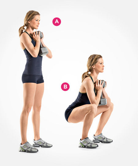 Vertical Squats